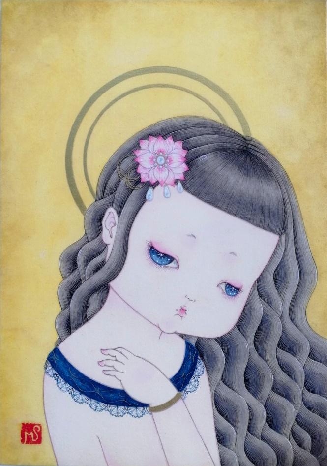 まりえ「マリア観音Ⅱ」