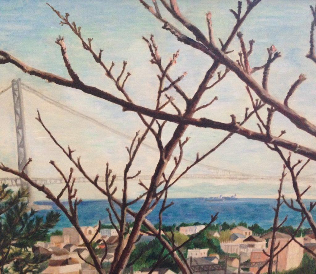 白江可林 「春はもうすぐ」